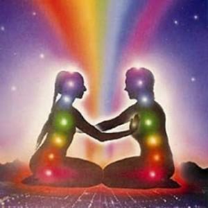 Unión de fusión espiritual energética