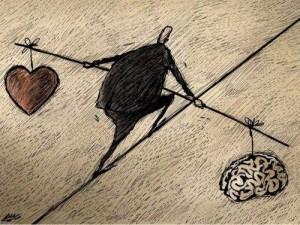 equilibrio-corazón y cerebro